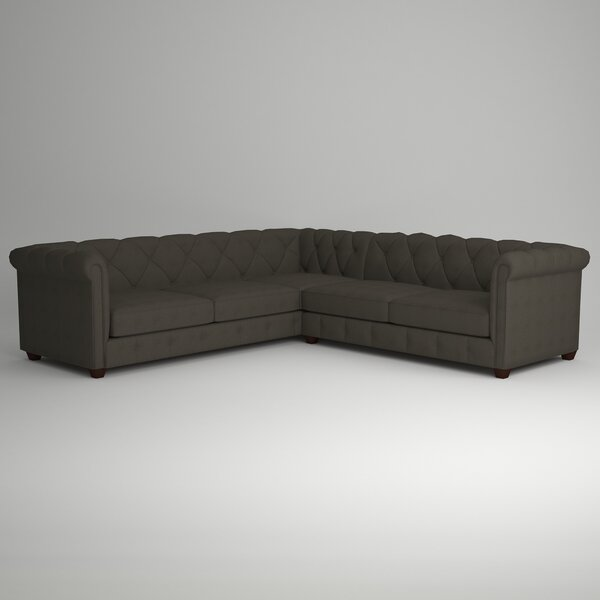 Keegan Sectional by AllModern Custom Upholstery