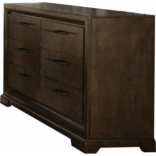 Alton 6 Drawer Double Dresser by Red Barrel Studio
