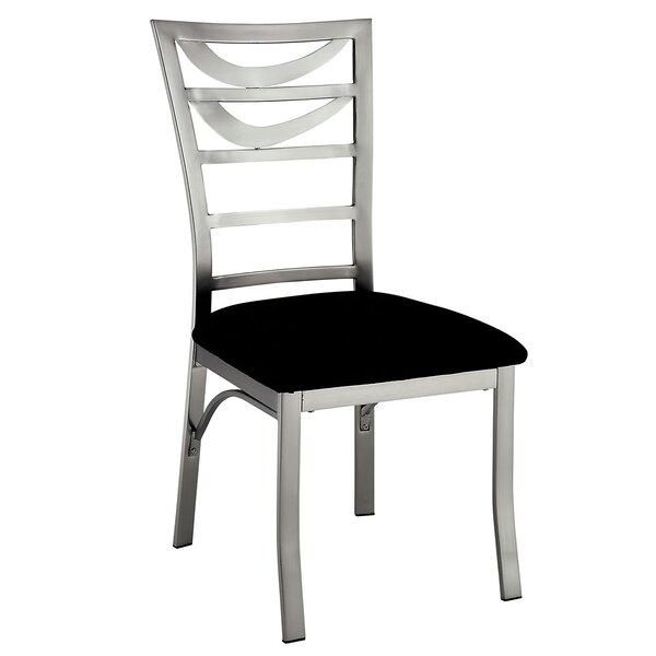 Legend Metal Frame Upholstered Dining Chair (Set of 2) by Orren Ellis
