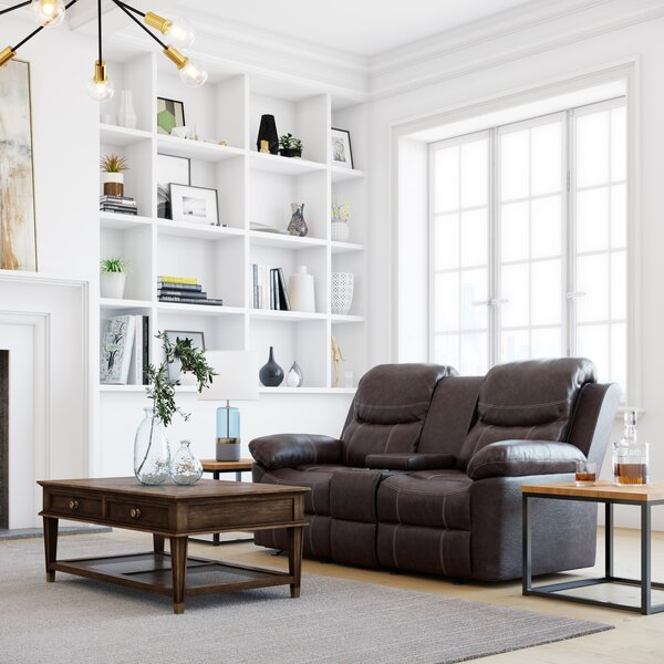 Broomfield Manual Reclining Loveseat By Winston Porter