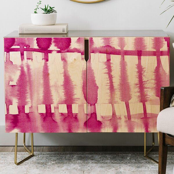 Lisa Argyropoulos Wild Credenza by East Urban Home East Urban Home