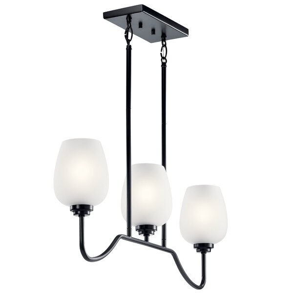 Fremont 9 - Light Shaded Tiered Chandelier By Charlton Home