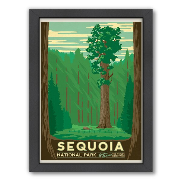 Sequoia Framed Vintage Advertisement by East Urban Home