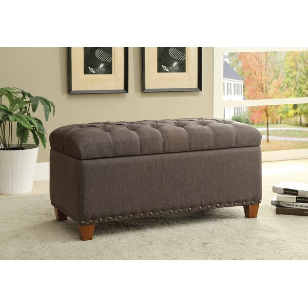Lowman Accent Upholstered Storage Bench by Charlton Home