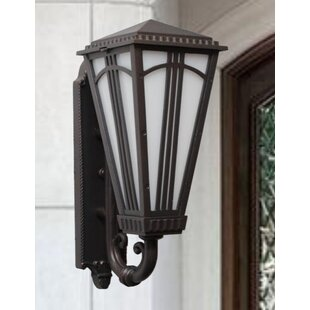 Reviews Petrey 2-Light Outdoor Sconce By Alcott Hill