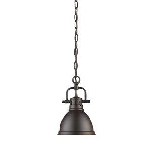 Compare & Buy Bodalla 1-Light Cone Pendant By Beachcrest Home