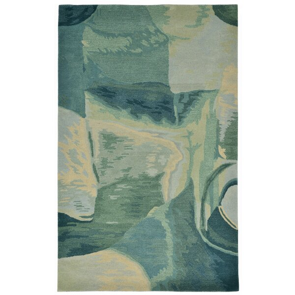 Terrill Hand-Tufted Blue Area Rug by Brayden Studio