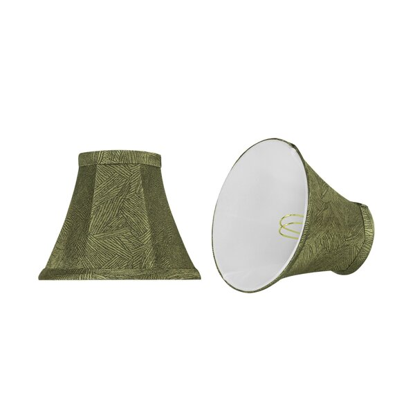 6'' Fabric Bell Lamp Shade (Set of 2) by Bay Isle Home