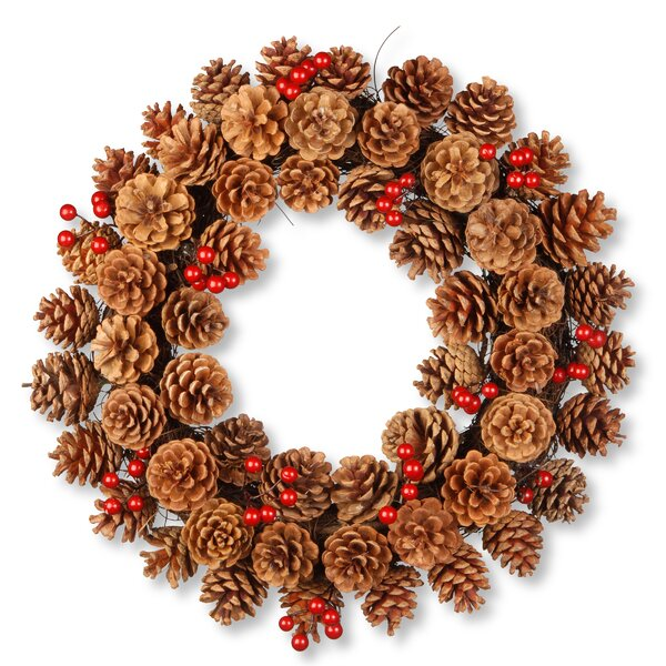 Harvest 20 Pinecone Wreath by National Tree Co.