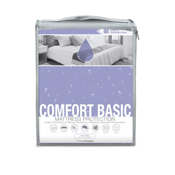 Comfort Basic Hypoallergenic Waterproof Mattress Protector by Glideaway