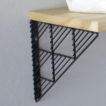 Triangle Wall Shelf (Set of 2) by Bend Goods