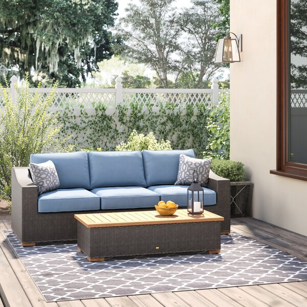 New Boston Rattan Sofa Seating Group by La-Z-Boy Outdoor