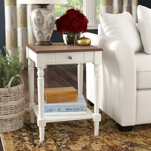 Great Price Carlisle End Table with Storage by Charlton Home
