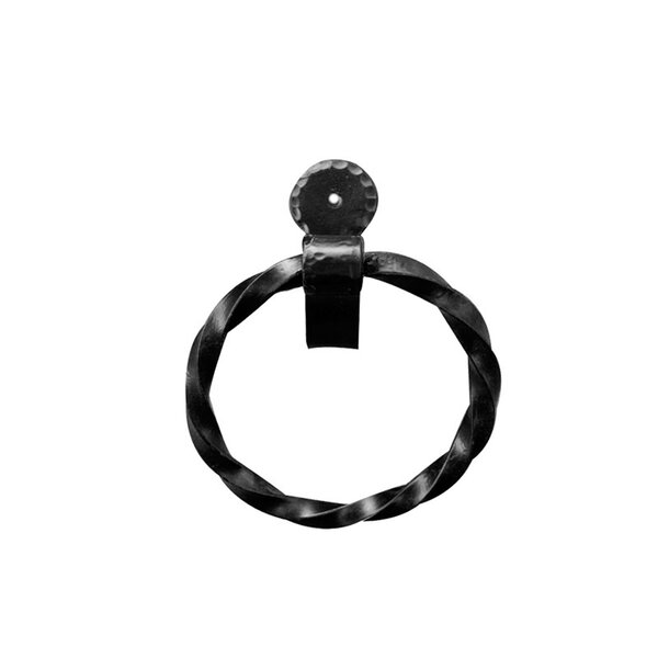 Wall Mounted Towel Ring by Artesano Iron Works