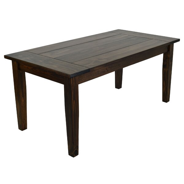 Pelagia Solid Wood Dining Table by Loon Peak Loon Peak