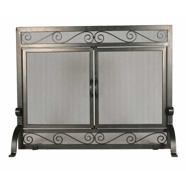 2 Panel Steel Fireplace Screens By 1. GO