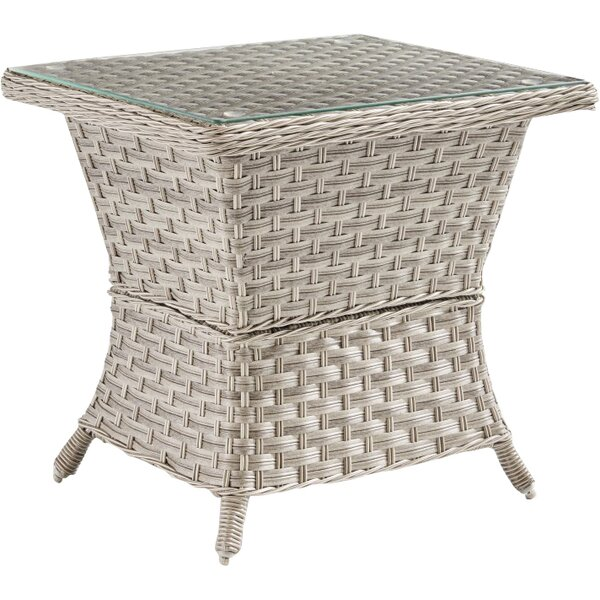 Keever Aluminum Side Table by Darby Home Co