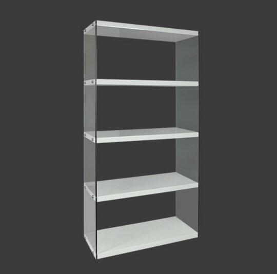 Marie Standing Divider Standard Bookcase by Orren Ellis