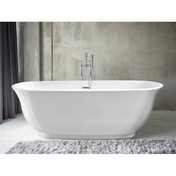 Imperial Oval 59 x 28 Soaking Bathtub by Pacific Collection