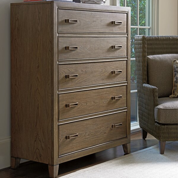 Cypress Point 5 Drawer Chest by Tommy Bahama Home