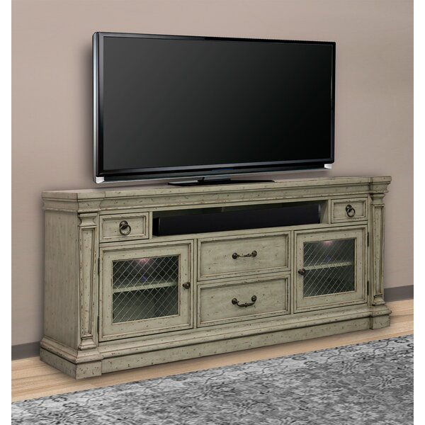 Travon Solid Wood TV Stand For TVs Up To 85