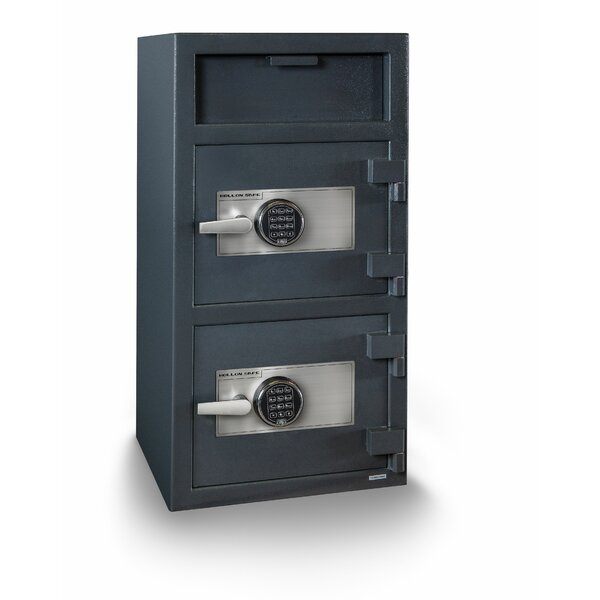 Double Door Electronic Lock Depository Safe by Hollon Safe