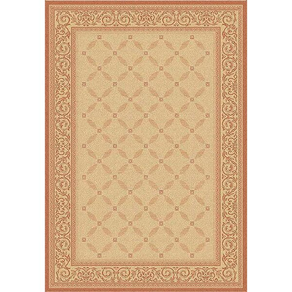 Beasley Vine Border Indoor/Outdoor Area Rug by Astoria Grand