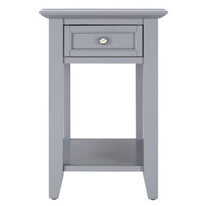 Attractive Ellicott End Table With Storage