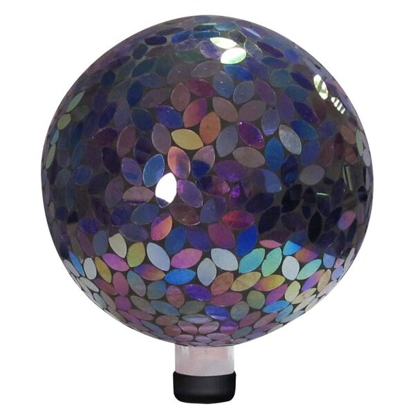 Mosaic Gazing Globe by Alpine