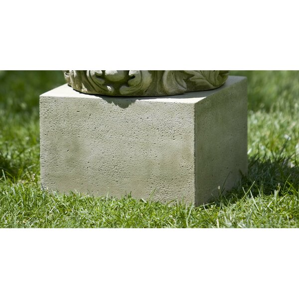 Textured Low Square Pedestal by Campania International