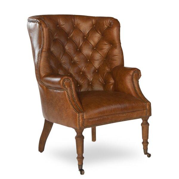 Shoping Spann Wingback Chair