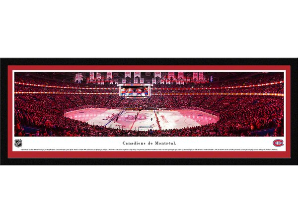 NHL Montreal Canadiens - Anthem by Christopher Gjevre Framed Photographic Print by Blakeway Worldwide Panoramas, Inc