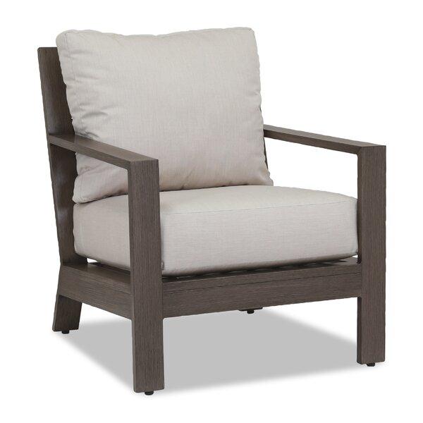 Laguna Canvas Flax Armchair with Cushion by Sunset West