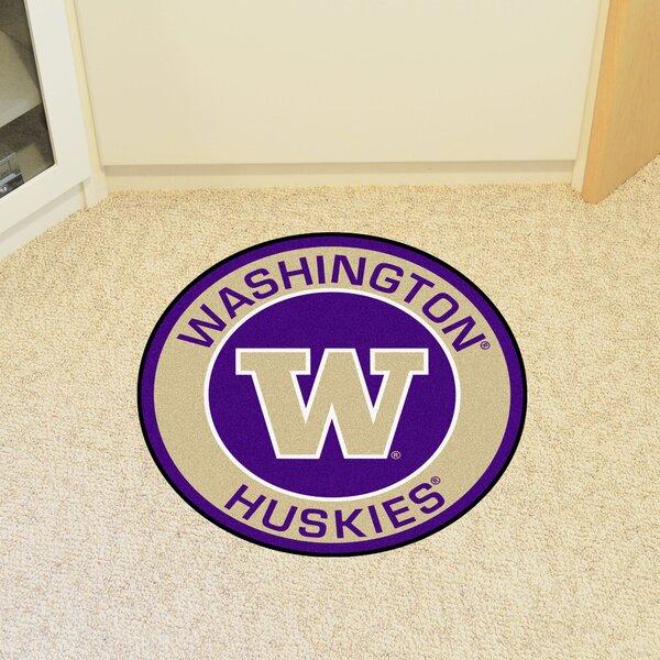 NCAA University of Washington Roundel Mat by FANMATS