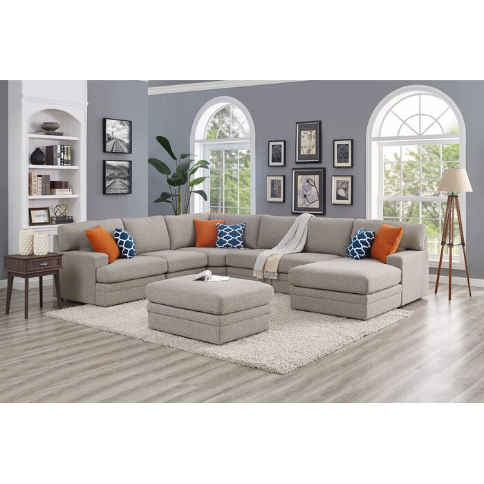 Phenomenal Episkopi 5 Seater Large Right Hand Facing Sectional Sofa With Ottoman Unemploymentrelief Wooden Chair Designs For Living Room Unemploymentrelieforg
