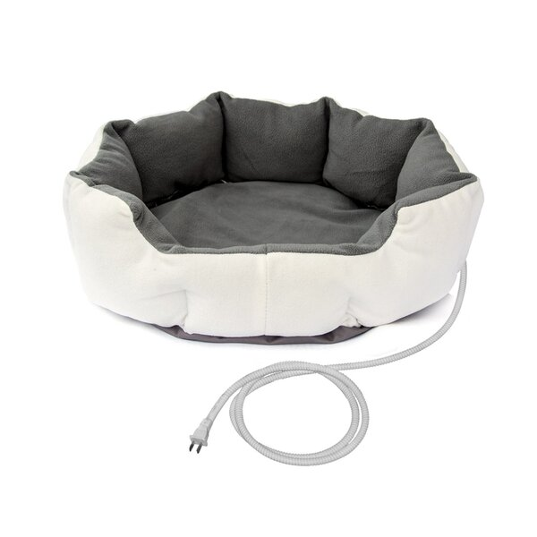 Melbourne Warm Soft Heated Bolster by Tucker Murphy Pet
