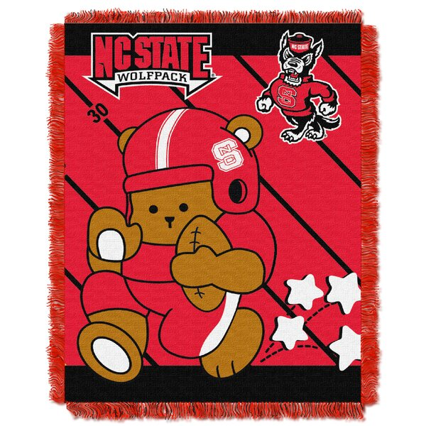 Collegiate N.C. State Baby Blanket by Northwest Co.