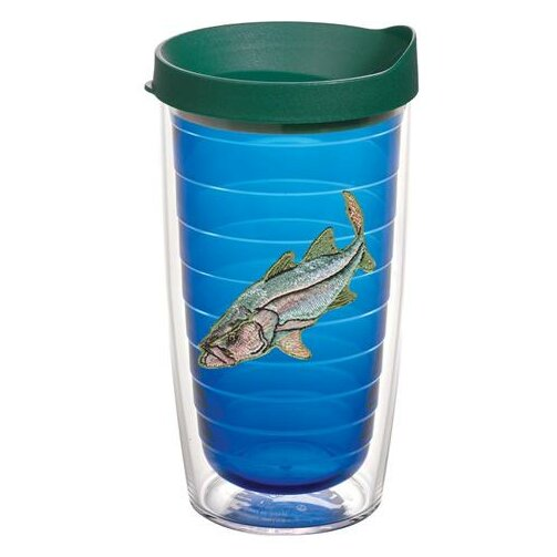 Guy Harvey Snook Plastic Travel Tumbler by Tervis Tumbler