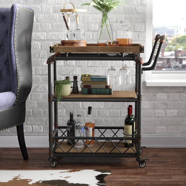 Oakfield Bar Cart by Trent Austin Design Trent Austin Design