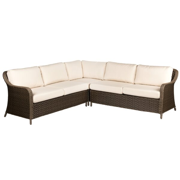 Savannah Patio Sectional by Woodard