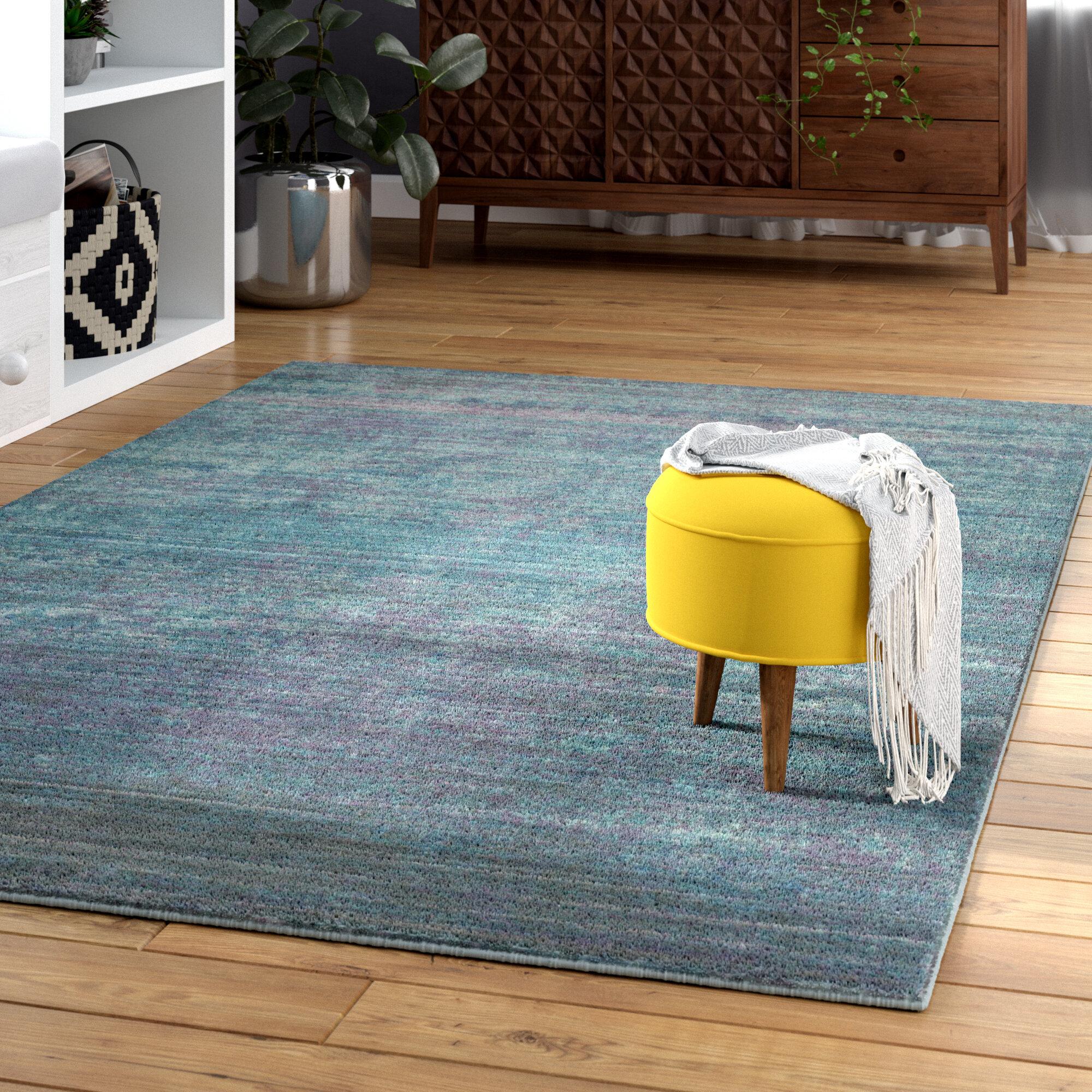 Mistana Doline Turquoise/Purple Area Rug & Reviews | Wayfair