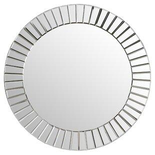 Willa Arlo Interiors Lidya Frameless Beveled Wall Mirror