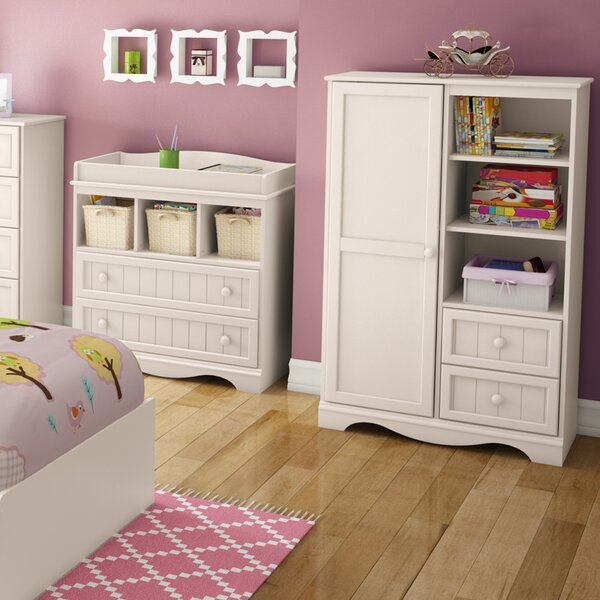 Savannah 2 Drawer Armoire by South Shore