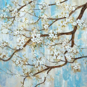 'Spring in Bloom' Print on Wrapped Canvas by Ophelia & Co.