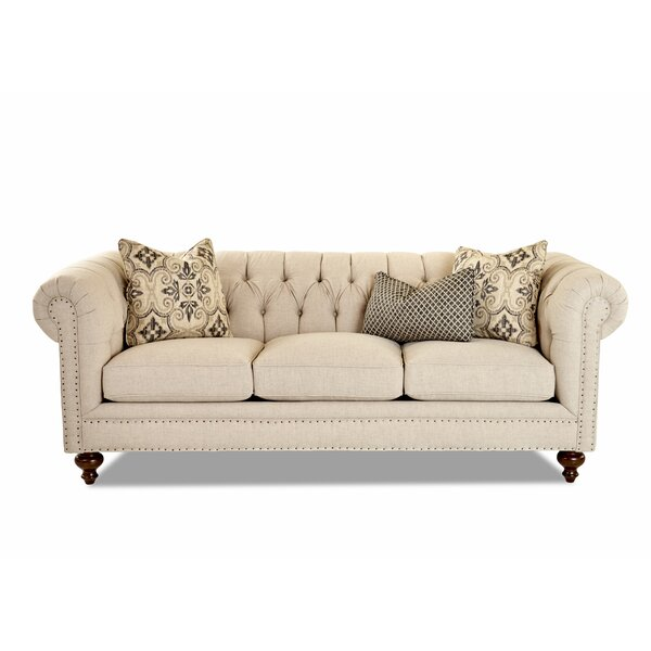 Low Cost Kavya Chesterfield Sofa by Canora Grey by Canora Grey