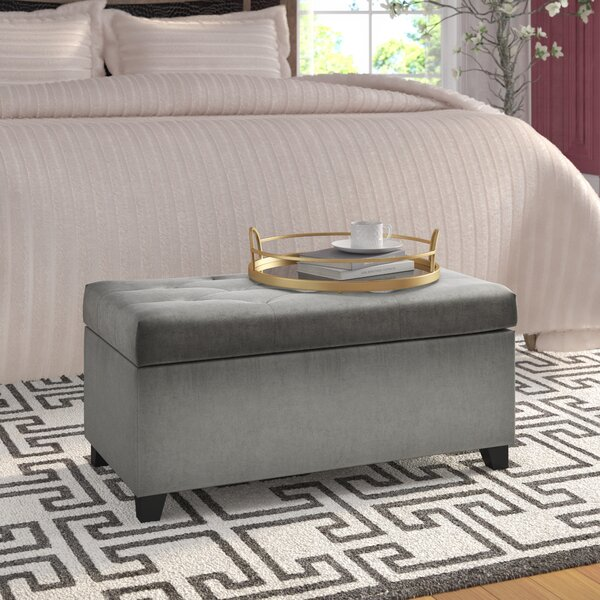 Durant Tufted Storage Ottoman by House of Hampton