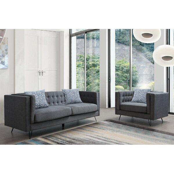 Manoel 2 Piece Living Room Set By Wrought Studio Savings