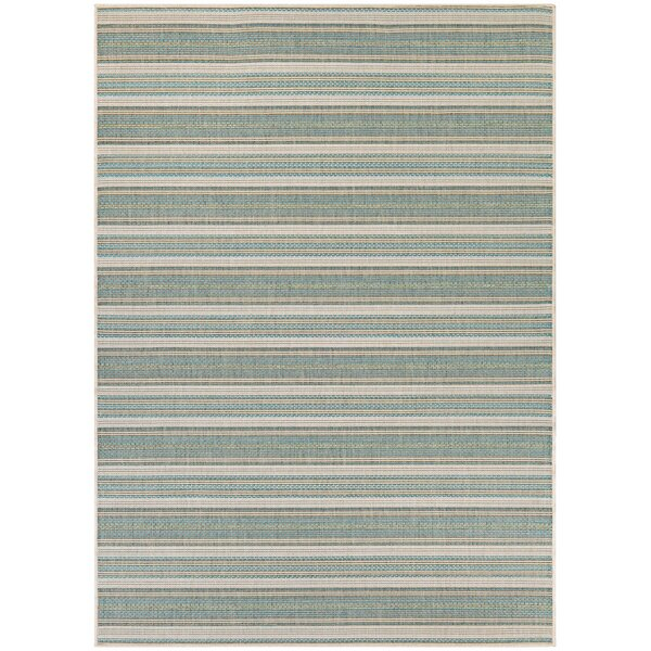 Kemmerer Blue IndoorOutdoor Area Rug by Beachcrest Home