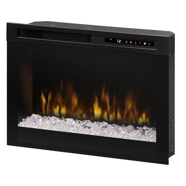 Firebox Landscape Front Mount Glass Media Electric Fireplace Insert by Dimplex Dimplex