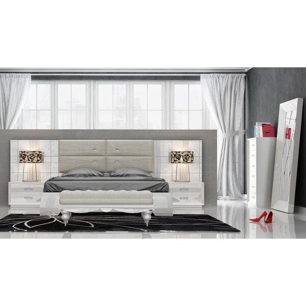 Knorr Panel 5 Piece Bedroom Set by Everly Quinn
